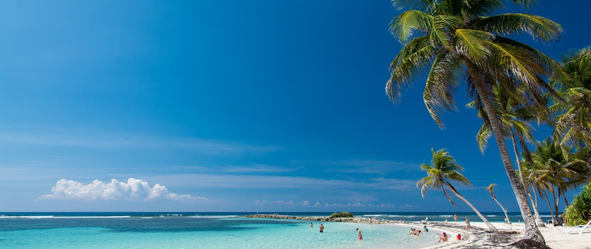Guadeloupe – Plage de la Caravelle – Sainte-Anne